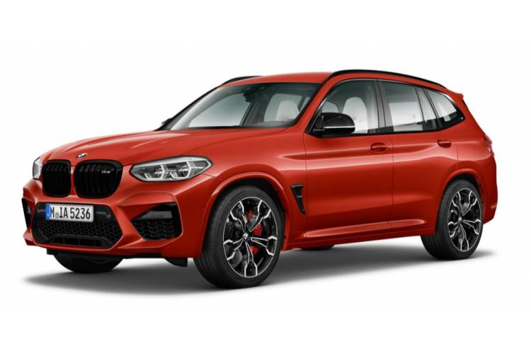 BMW X3 SUV X3M xDrive SUV 3.0 i 510PS Competition 5Dr Auto ...